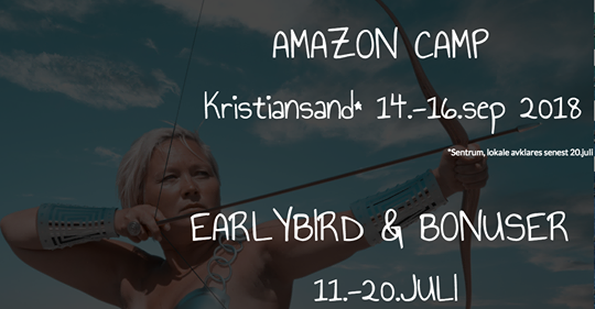 Reklame for Amazon Camp